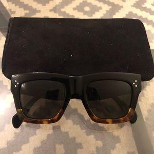 Celine black/Havana brown sunglasses